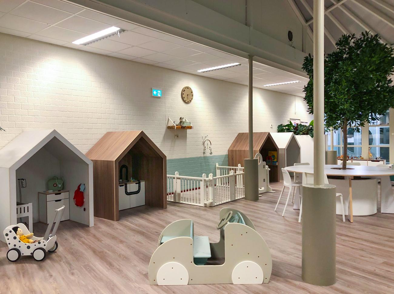 minimam interieur ontwerp inrichting de kinderkeet amc amsterdam